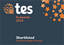 tes fe awards 2019 Shortlisted sixth form college of the year