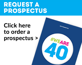 Request a prospectus #weare40