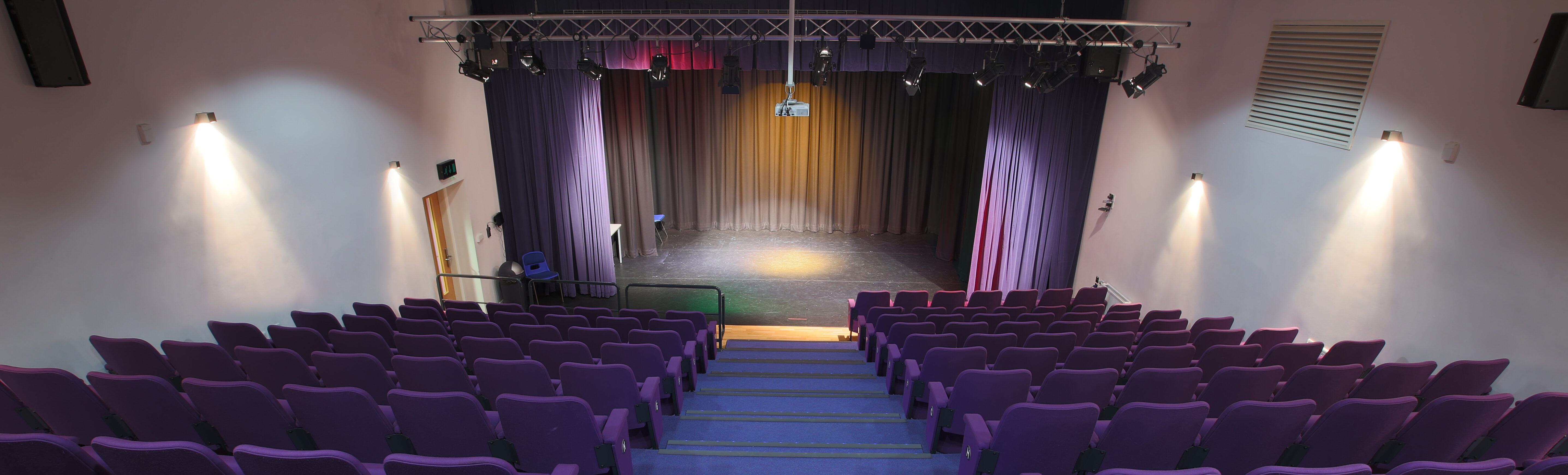 Cardinal Newman performance stage