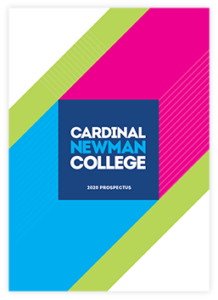 Cardinal Newman College 2020 prospectus cover