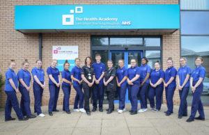 NHS Careers Plus Students at Royal Preston Hospital