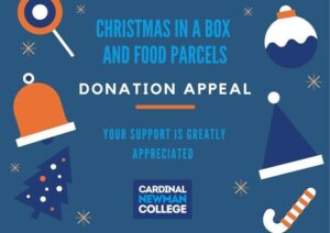 Christmas in a box donation appeal