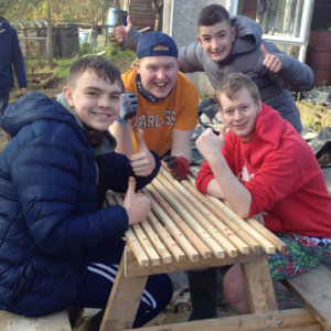 Foundation Learning horticulture students
