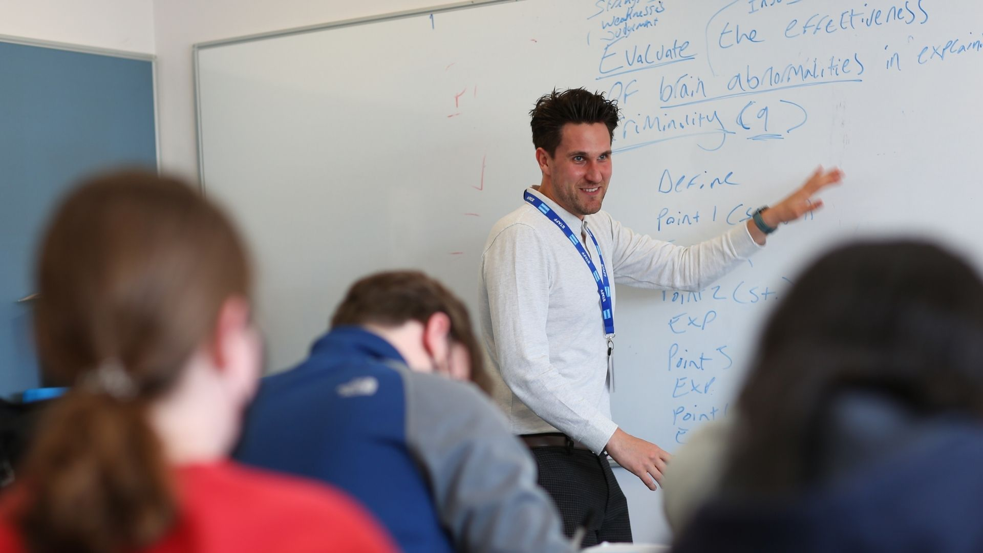 Nathan Jolley, Criminology Teacher