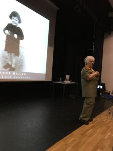 Holocaust Survivor Visits Newman to Tell Her Story